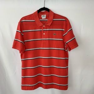 Lacoste Striped short sleeves Polo Shirt